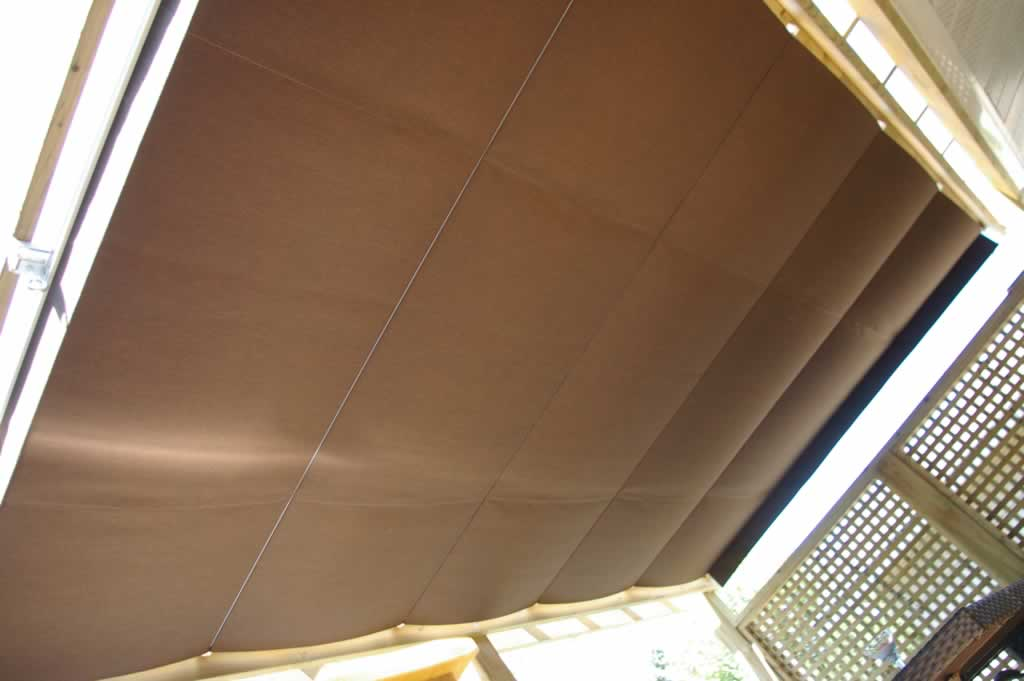 A retractable awning is a great addition to any deck and ...