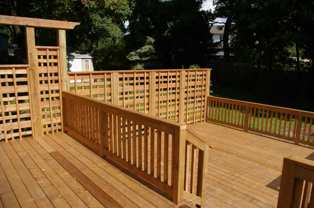 Accessories proscape patio decks montreal 514 421 9687 for Privacy planters for decks
